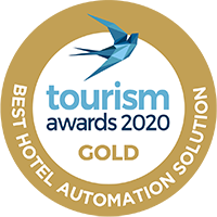 Tourism awards Hotelist badge